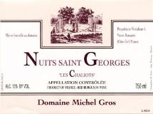 Domaine Michel Gros Nuits-Saint-Georges Les Chaliots label