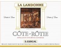 E. Guigal Côte Rôtie La Landonne label