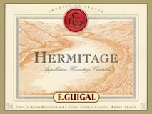 E. Guigal Hermitage Blanc label