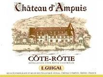 E. Guigal Côte Rôtie Château d'Ampuis label