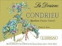 E. Guigal Condrieu La Doriane label