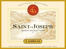 E. Guigal Saint-Joseph  label
