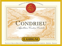 E. Guigal Condrieu  label