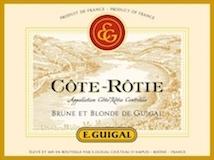 E. Guigal Côte Rôtie Brune et Blonde de Guigal label