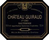 Château Guiraud  Premier Cru label