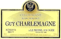 Guy Charlemagne Blanc de Blancs Réserve Brut Grand Cru label