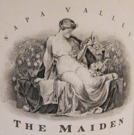 Harlan Estate The Maiden label