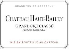 Château Haut-Bailly  Cru Classé de Graves label