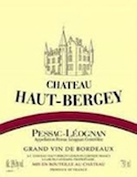 Château Haut-Bergey  label