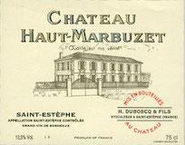 Château Haut-Marbuzet  label