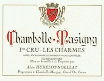 Domaine Hudelot-Noëllat Chambolle-Musigny Premier Cru Les Charmes label