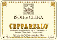 Isole e Olena Cepparello label