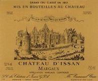 Château d' Issan  Troisième Cru label