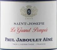 Domaines Paul Jaboulet Aîné Saint-Joseph Le Grand Pompée label