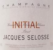Jacques Selosse Brut Initial Grand Cru label