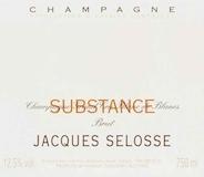 Jacques Selosse Substance Brut Grand Cru label