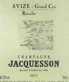 Jacquesson Avize Grand Cru label