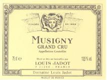Maison Louis Jadot Musigny Grand Cru  label