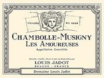 Maison Louis Jadot Chambolle-Musigny Premier Cru Les Amoureuses label