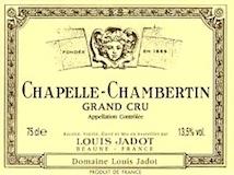 Maison Louis Jadot Chapelle-Chambertin Grand Cru  label