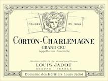 Maison Louis Jadot Corton-Charlemagne Grand Cru  label