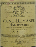 Maison Louis Jadot Vosne-Romanée Premier Cru Aux Malconsorts label