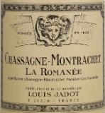 Maison Louis Jadot Chassagne-Montrachet Premier Cru La Romanée label