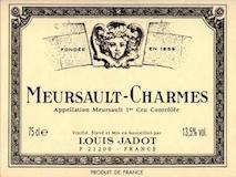 Maison Louis Jadot Meursault Premier Cru Charmes label