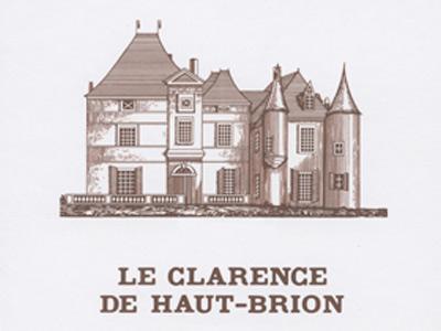 Château Haut-Brion Le Clarence de Haut-Brion label