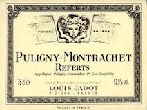 Maison Louis Jadot Puligny-Montrachet Premier Cru Les Referts label