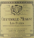 Maison Louis Jadot Chambolle-Musigny Premier Cru Les Fuées label