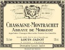 Maison Louis Jadot Chassagne-Montrachet Premier Cru Abbaye de Morgeot label