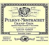 Maison Louis Jadot Puligny-Montrachet Premier Cru Champ Gain label