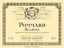 Maison Louis Jadot Pommard Premier Cru Les Rugiens label