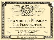 Maison Louis Jadot Chambolle-Musigny Premier Cru Les Feusselottes label