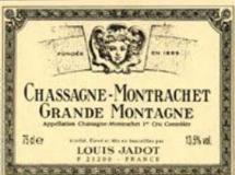 Maison Louis Jadot Chassagne-Montrachet Premier Cru Grande Montagne label