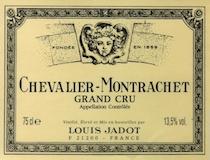 Maison Louis Jadot Chevalier-Montrachet Grand Cru  label