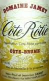 Domaine Jamet Côte Rôtie Côte Brune label