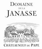 Domaine de la Janasse Châteauneuf-du-Pape Blanc Cuvée Prestige label