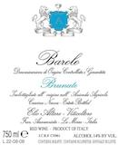 Elio Altare  Barolo Brunate label