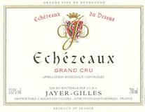 Domaine Jayer-Gilles Echezeaux Grand Cru Du Dessus label