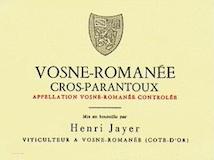 Henri Jayer Vosne-Romanée Premier Cru Cros Parantoux label