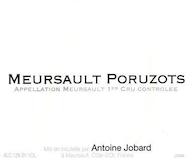 Domaine Antoine Jobard Meursault Premier Cru Poruzots label