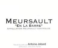 Domaine Antoine Jobard Meursault En la Barre label
