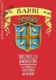 Fattoria dei Barbi (Cinelli Colombini) Brunello di Montalcino  Riserva label