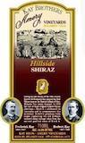Kay Brothers Amery Vineyards Hillside Shiraz label