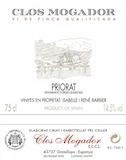 René Barbier Clos Mogador label