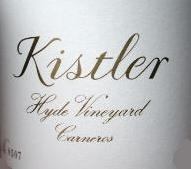 Kistler Vineyards Hyde Vineyard Chardonnay label