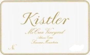 Kistler Vineyards McCrea Vineyard Chardonnay label