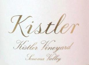 Kistler Vineyards Kistler Chardonnay label